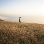 picture of a man standing in a field
