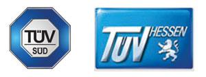 tüv süd and hessen logo
