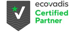 EcoVadis certified partner logo
