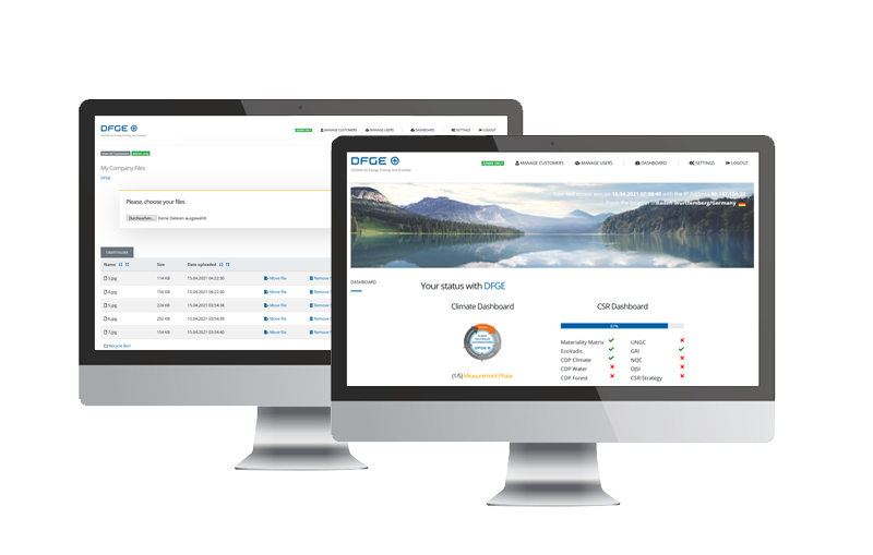 CSR Dashboard & File Manager